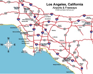La Freeway Traffic Map.The Los Angeles Freeway And The History Of Community Displacement